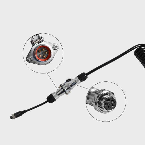 Haloview Quick Connect/Disconnect Trailer Cable for the MC7611 Rear View Camera System
