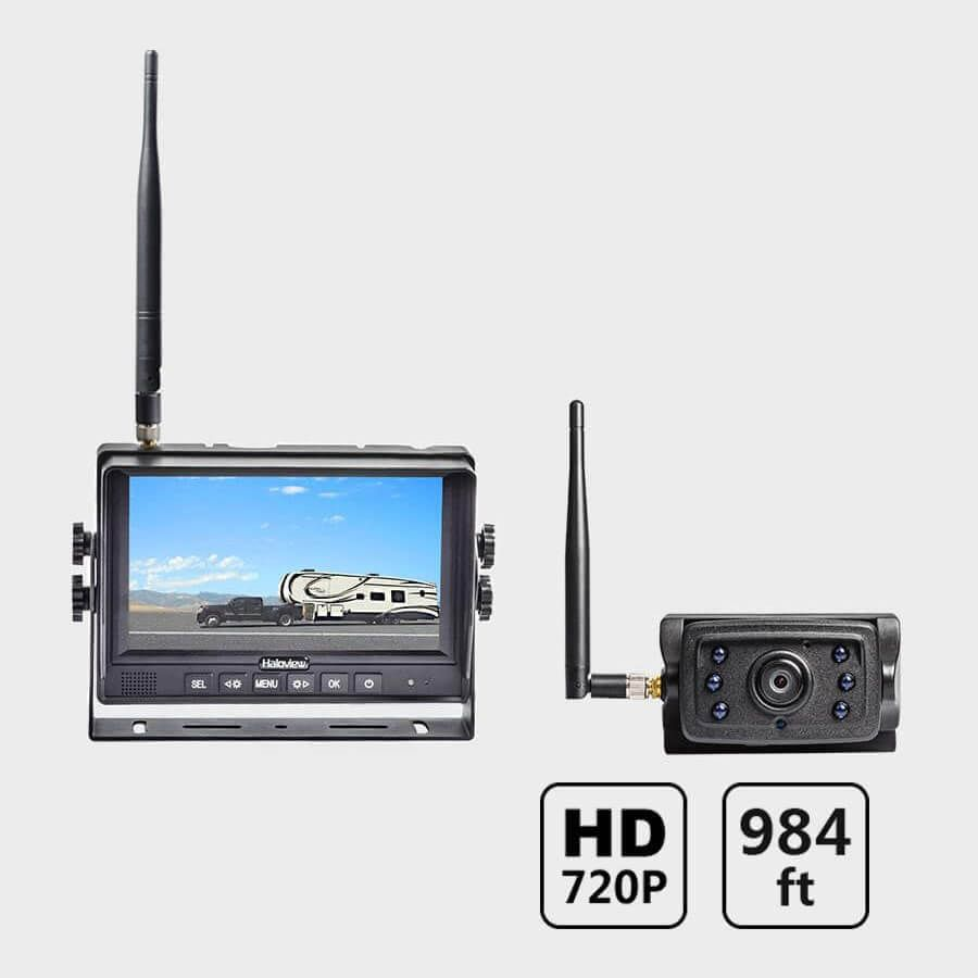 Rear View Camera System >> Haloview Mc7109 7 720p Hd Digital Wireless Rear View Camera System