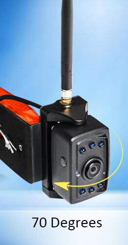 side maker light camera horizontal adjustable