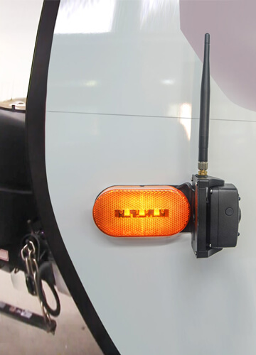 side maker light camera easy to install