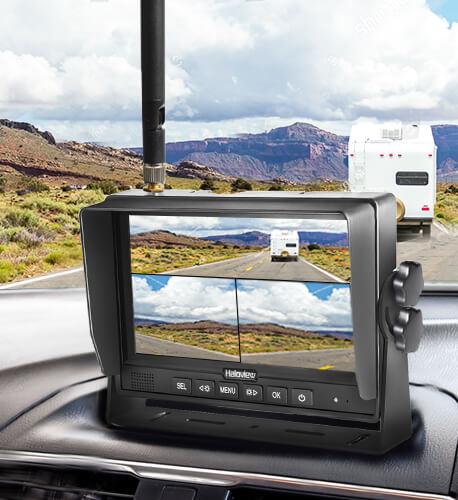 side maker light camera 3-in-one split mode