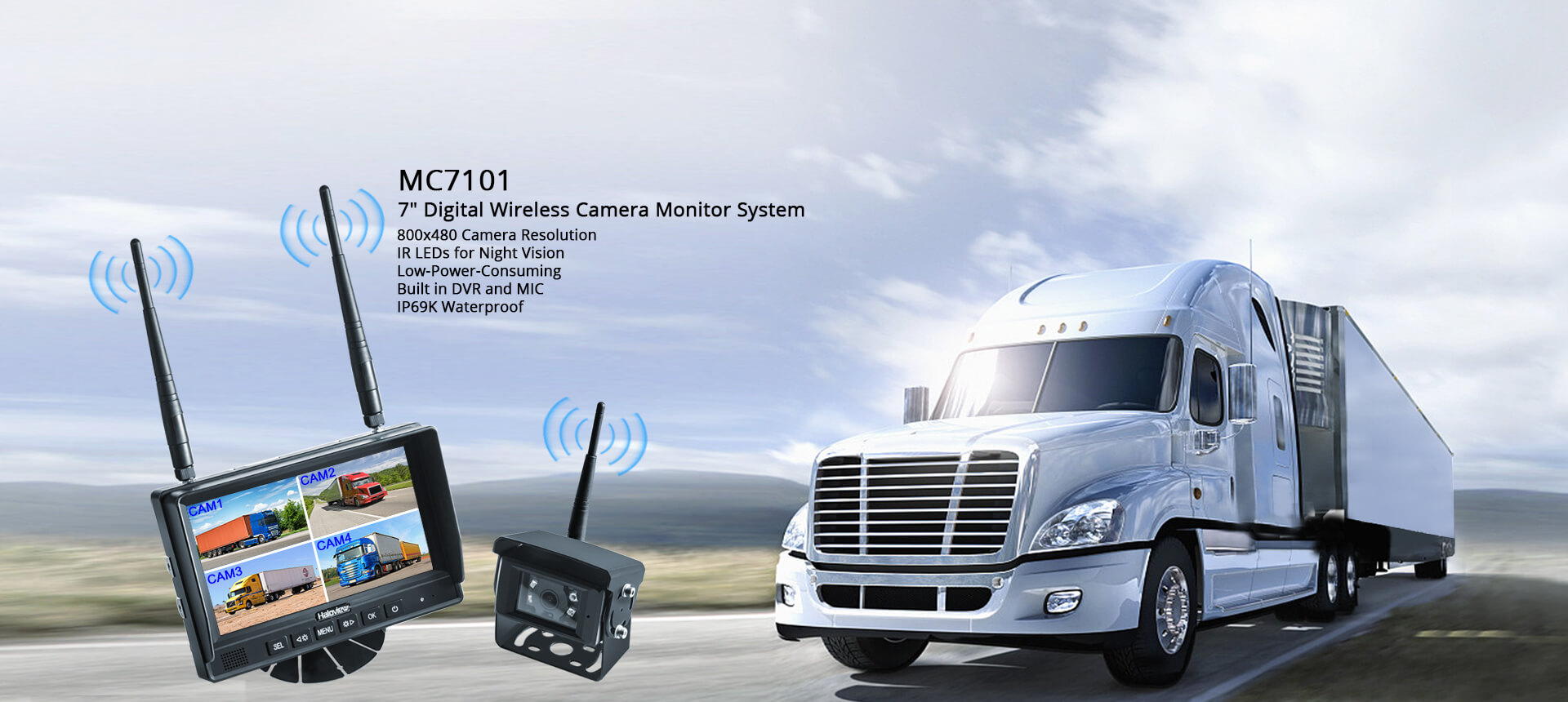 480P Digital Backup Camera System MC7101 home banner