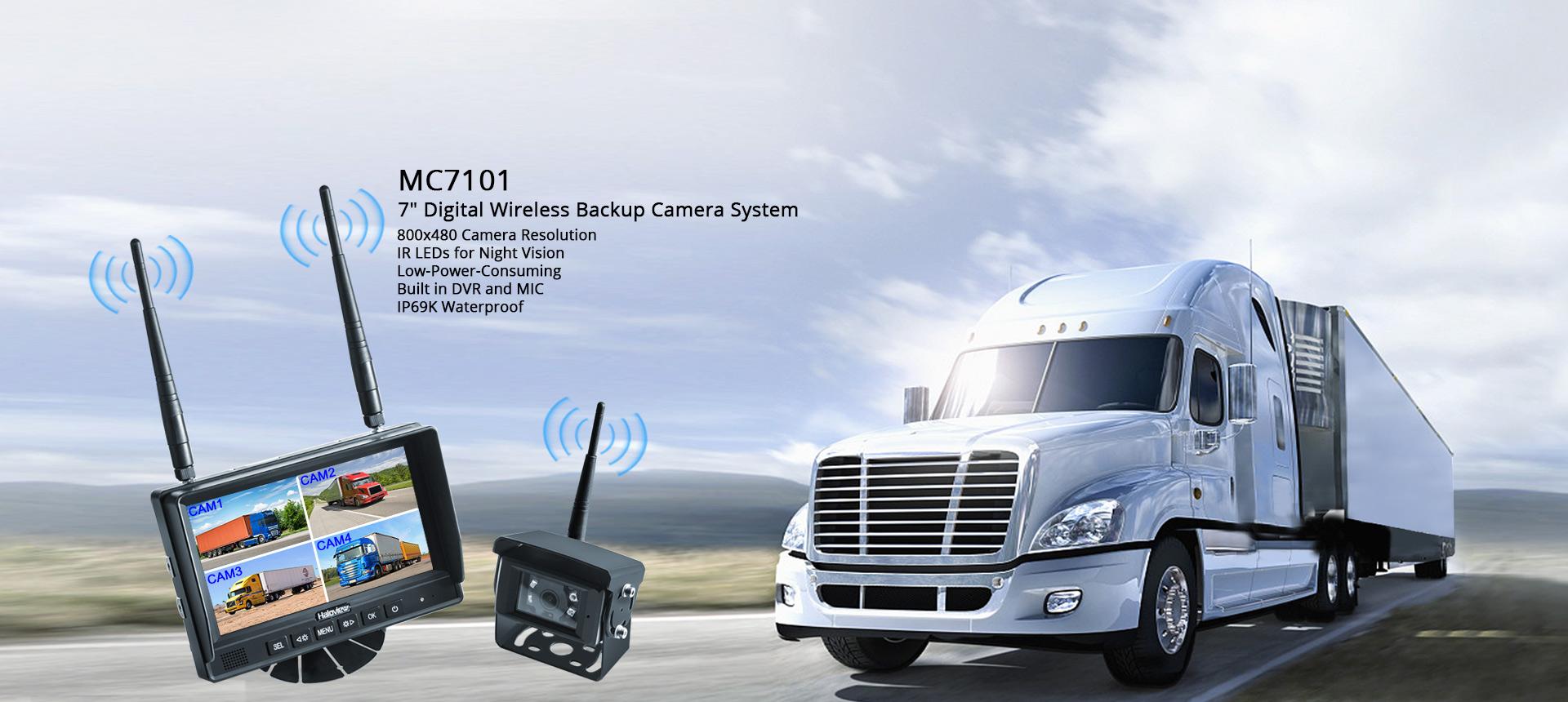 480P Digital Backup Camera System MC7101 home banner