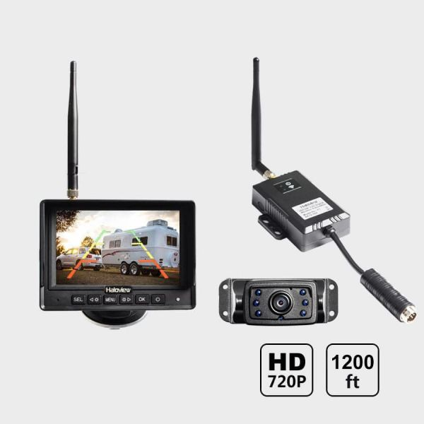 Haloview 5'' 720P Wireless Range Dominator System RD5-MINI