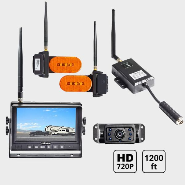 Haloview 7'' 720P Wireless Range Dominator System RD7-MAX