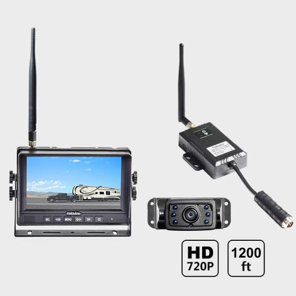 Haloview 7'' 720P Wireless Range Dominator System RD7-MINI