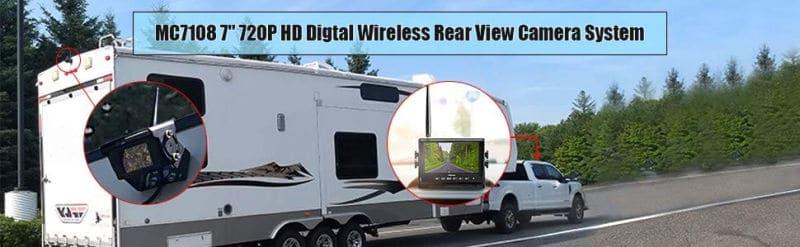Installing A Haloview Wireless Rv Backup Camera Model Mc7108