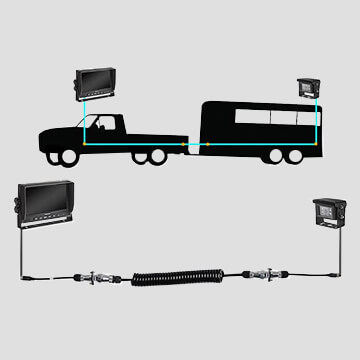 Quick Connect/Disconnect Truck and Trailer